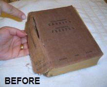 1-Binding book by hand