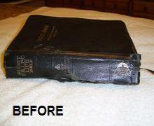 3-Bible book binding