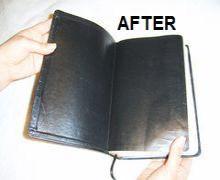 3-Binding book leather
