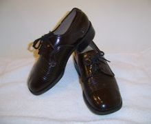 Childrens designer shoes made by Lermont Moukoian