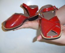 Childrens sandals made by Lermont Moukoian