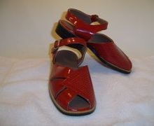 Kids sandals made by Lermont Moukoian