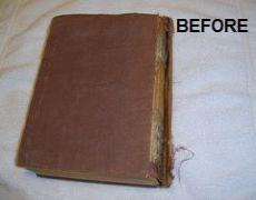 Leather binding service