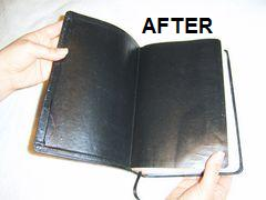 3-Binding book leather