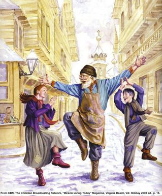 The Old Shoemaster by Leo Tolstoy, CBN, Christmas Stories