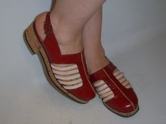 Custom shoes made by Lermont Moukoian