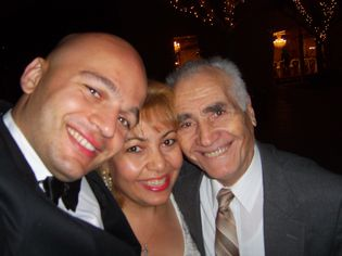 Patrick & Anna Dejean & Lermont Moukoian at Castaway Restaurant in Burbank, California-Shoe Repair Expert Blog