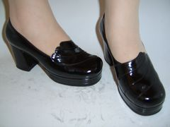 Women's dress shoes made by Lermont Moukoian