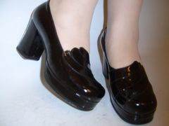 Women's evening shoes made by Lermont Moukoian