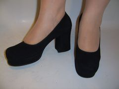 Women's high heel shoes made by Lermont Moukoian