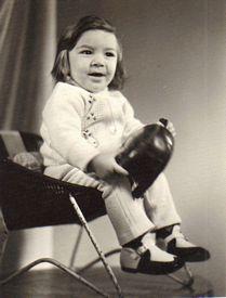 Albert Moukoian in Yerevan, Armenia in 1973 wearing kids boots made by Lermont Moukoian