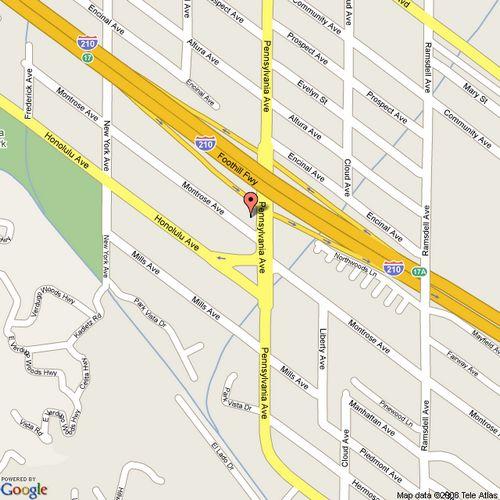 Google Maps To Lermont's Shoe Service