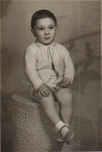 Harutiun Moukoian in Yerevan, Armenia in 1964 wearing kids leather sandals made by Lermont Moukoian