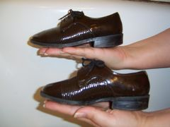 Kids dress shoes made by Lermont Moukoian