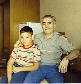 My Brother Albert and My Dad Lermont Moukoian-October 1980