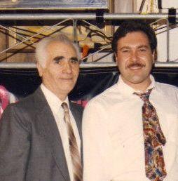My Dad Lermont Moukoian & my brother Harutiun Moukoian in Pasadena, California in 1993